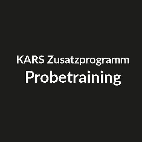 Probetraining (KARS Fight System, Qi Gong, Yoga oder Meditation)