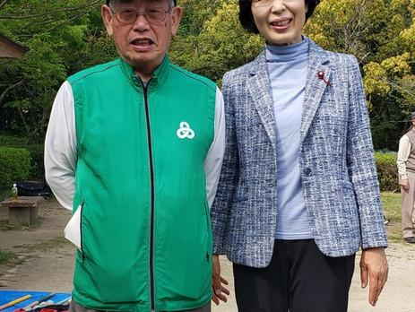 ■区民親善グランドゴルフ大会が開催され今回も多くの参加者で優勝が競われました