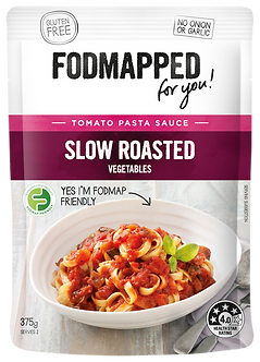 Slow roasted vegetables tomato low fodmap diet pasta sauce 375g