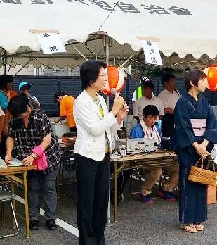 ■年に一度の夏祭り