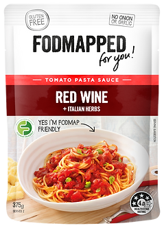 Red Wine & Italian Herbs Tomato low fodmap diet pasta sauce 375g