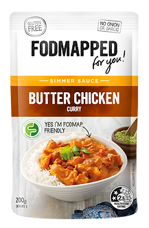 Butter Chicken Curry low fodmap diet simmer sauce 200g