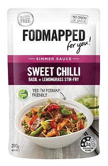 Sweet Chilli, Basil + Lemongrass Stir Fry low fodmap diet simmer sauce 200g