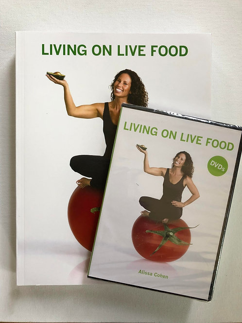 Living on Live Food Book and DVD