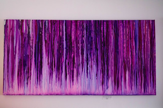 Into the Light of the Night- 24x48
