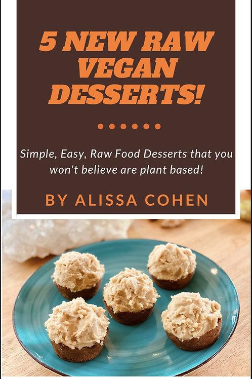 Dessert e-book 5 new recipes