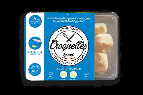 Boite de croquettes  apéritives fromage 16X18g