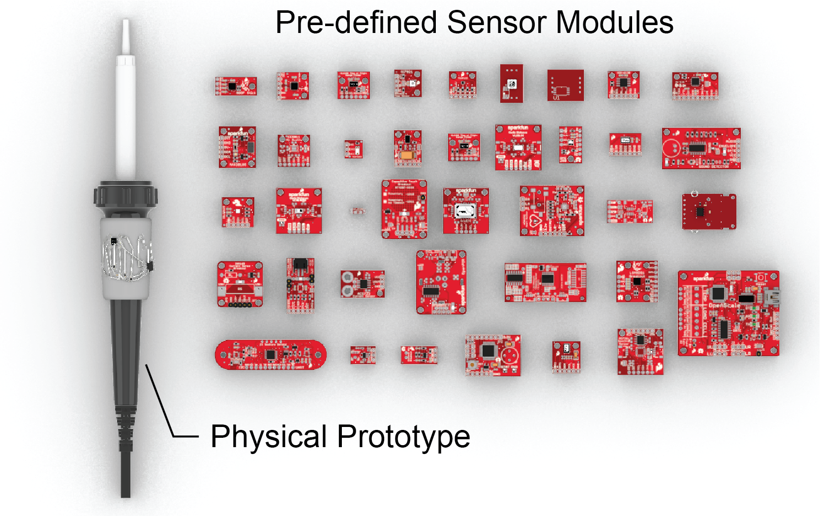 MorphSensor: A 3D Electronic Design Tool for Reforming Sensor Modules