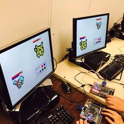 Pokémon Game via FPGA