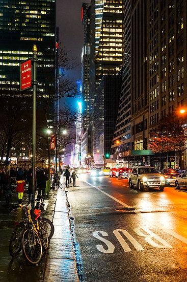 New York City by night 2