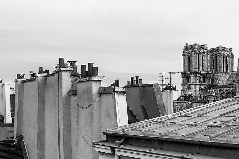 Sur les toits, Notre Dame