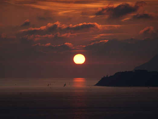 Sunset rond