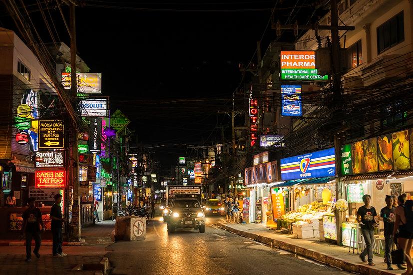 Chaweng by night