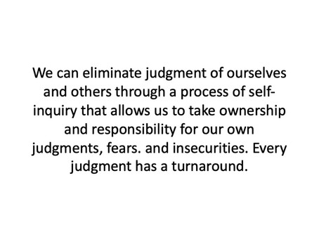 7 Ways to Eliminate Judgment with Discernment