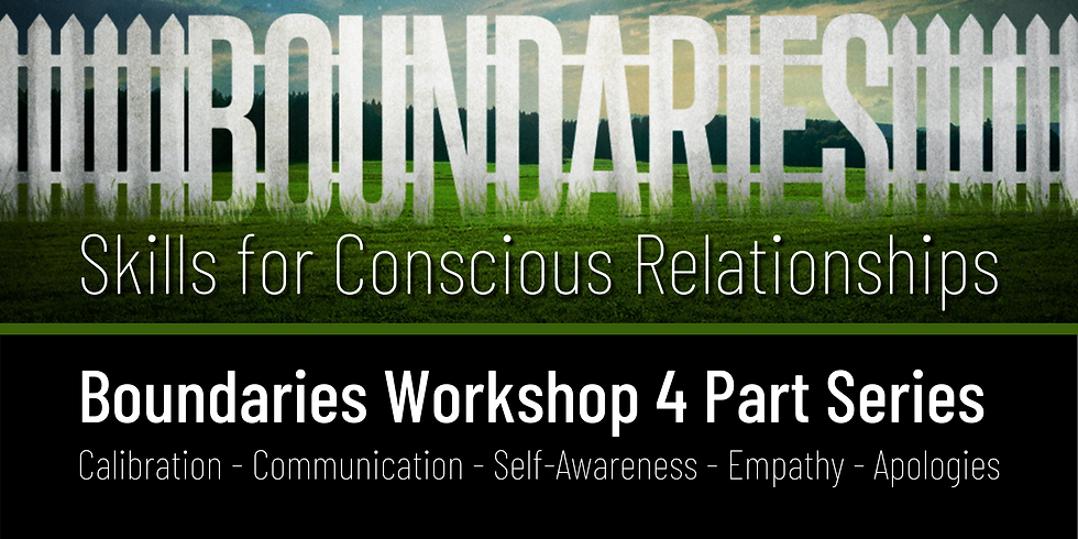 Boundaries Workshop Part 4 of 4 - Skills for Conscious Relationships
