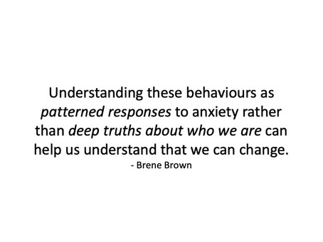 Patterns of Anxiety - Over/Under-Functioning