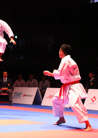 Team Kata 1st place at the 2016 Karate 1 Premier League in Okinawa