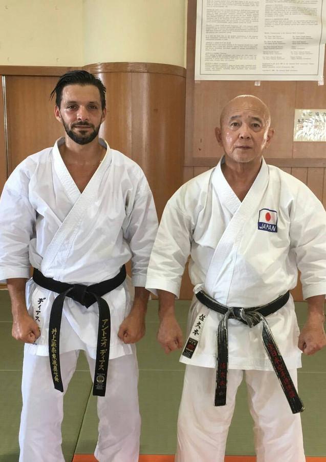Tsuguo Sakumoto and Antonio Diaz