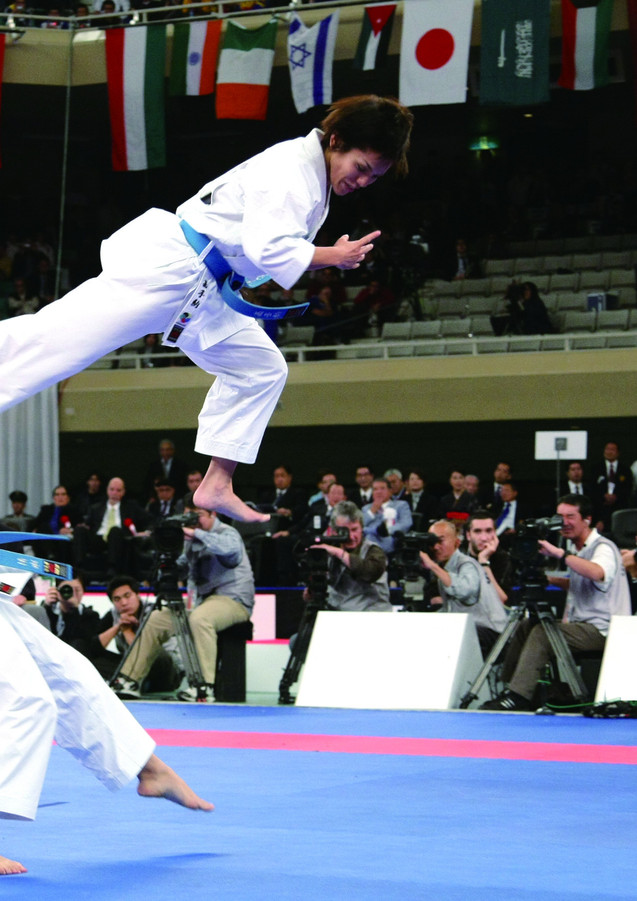 Winner of 19th World Karatedo Championships ( Japan 2010 )