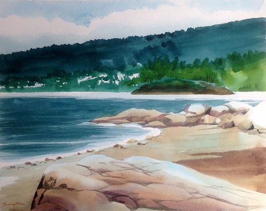 Belcarra Rocks at Low Tide