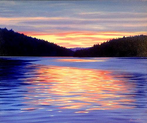 Burrard Inlet Sunset