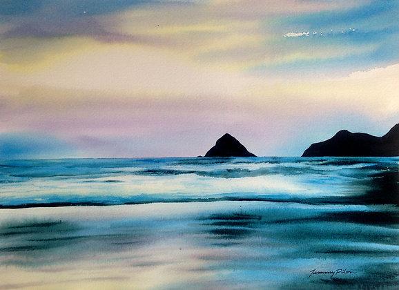 Amazing Oregon Coast Sunset