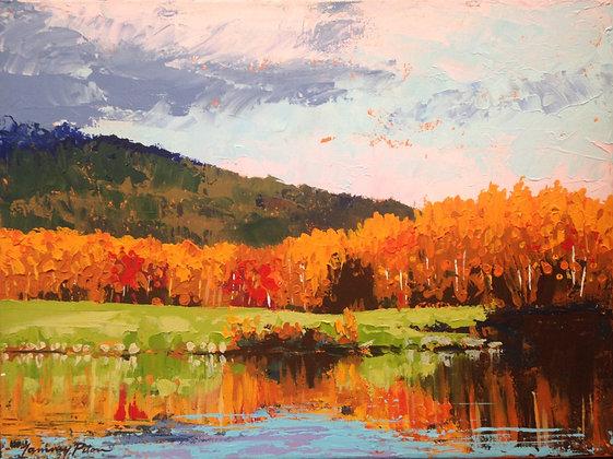 Autumn Orange at Lafarge Lake
