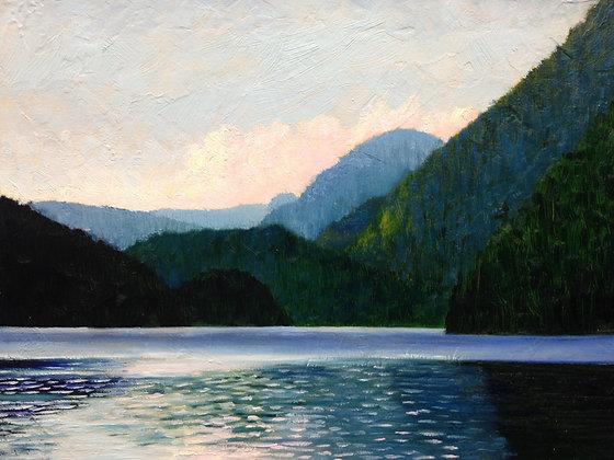 Buntzen Lake Sunset