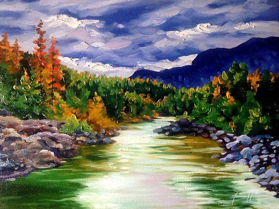 A Moody BC River