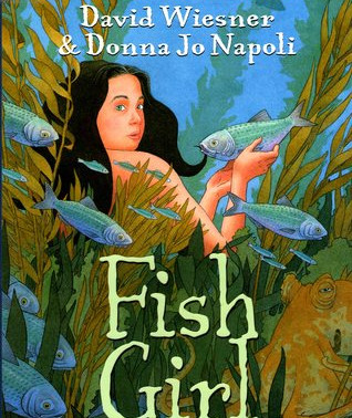 #TeenTuesdays Book Talk: Fish Girl by David Wiesner