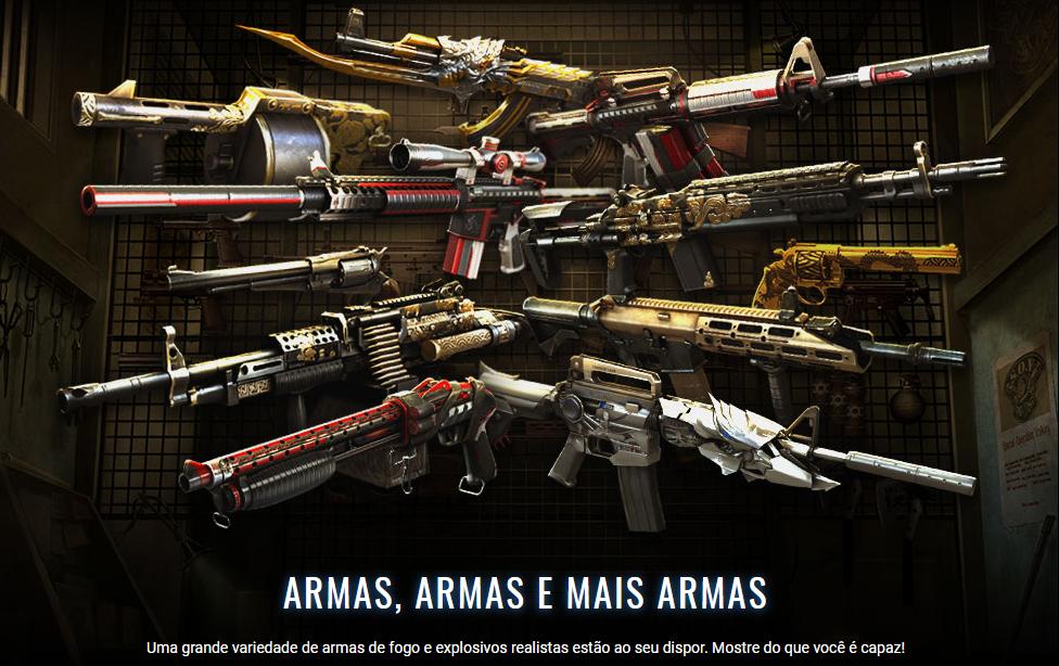 CrossFire Armas