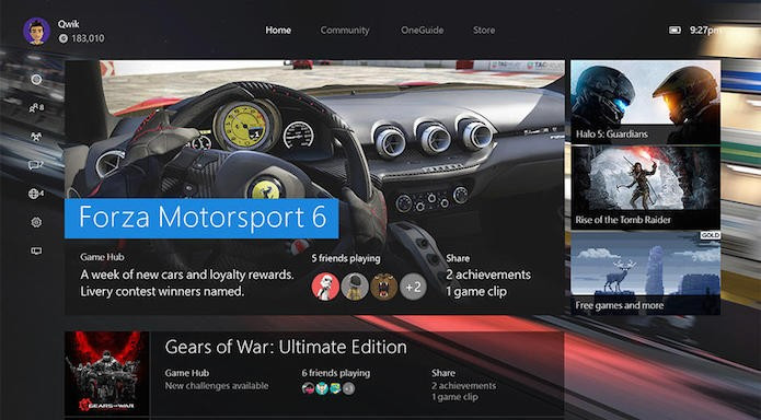 Home Xbox One