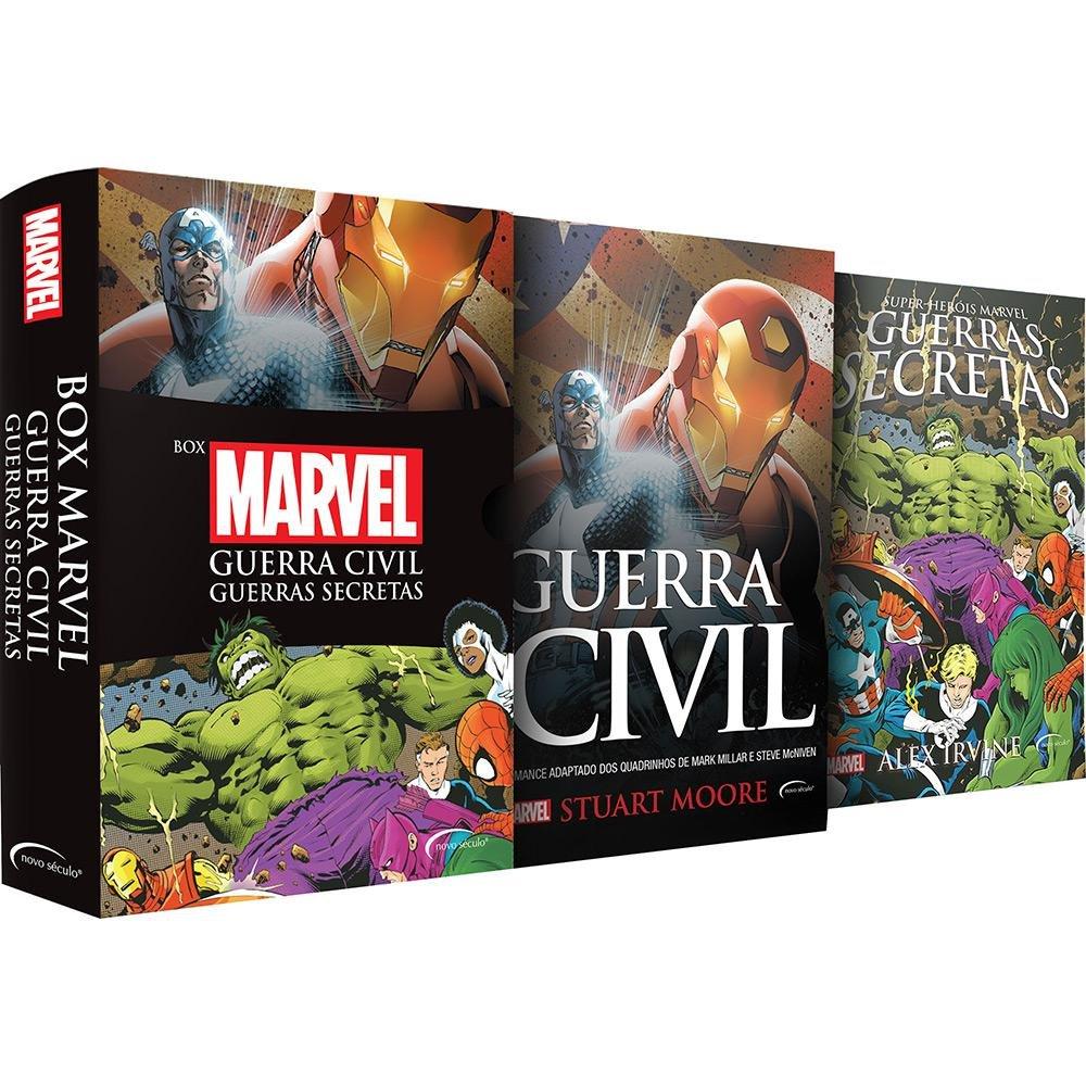Box Marvel Guerra Civil: Guerras Secretas