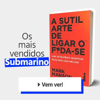 Os livros mais vendidos do Submarino