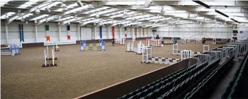 Indoor equestrian arena - Wi-Fi indoors