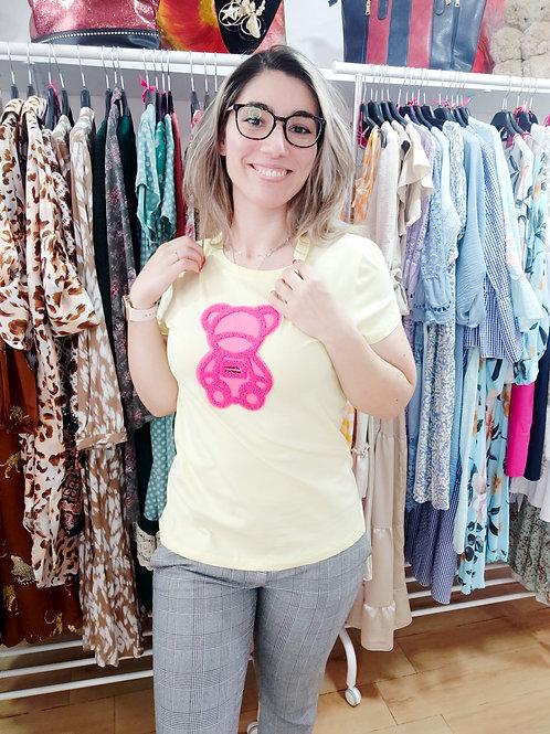 T-shirt Urso Amarelo