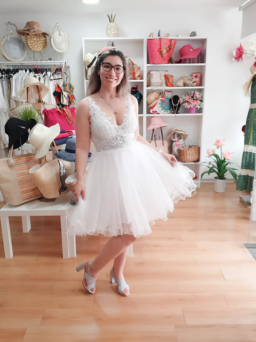 Vestido white
