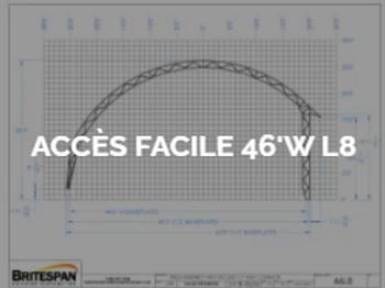 Dôme Britespan ACCES FACILE 46' WL8