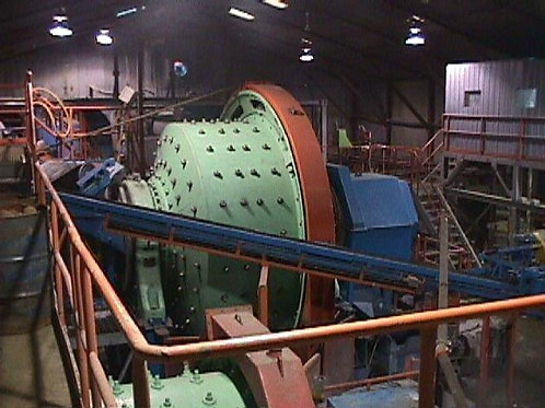 Broyeur Semi autogène (SAG mill)