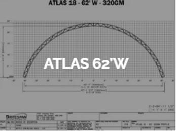 Dôme Britespan ATLAS 62' W