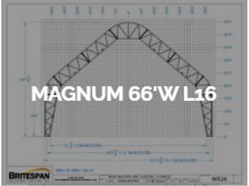 Dôme Britespan MAGNUM 66' WL16