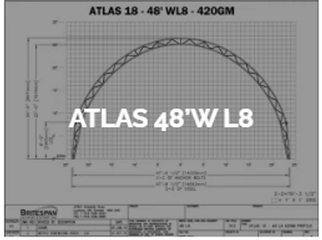 Dôme Britespan ATLAS 48' WL8