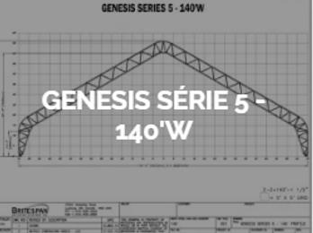 Dôme Britespan GENESE série 5-140' W