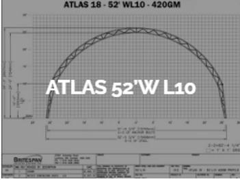 Dôme Britespan ATLAS 52' WL10