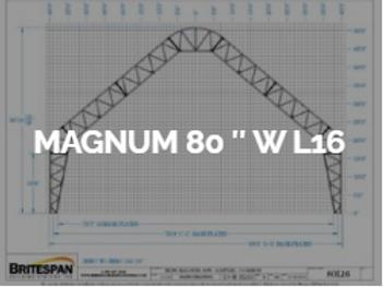 Dôme Britespan MAGNUM 80' WL16