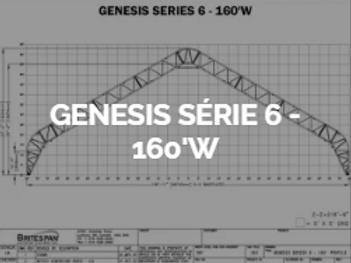 Dôme Britespan GENESE série 6-160' W
