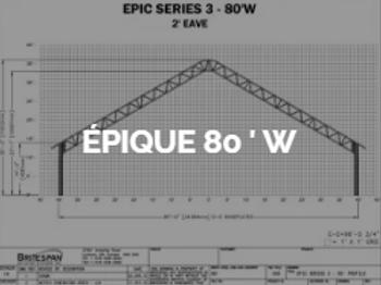 Dôme Britespan EPIC 80' W