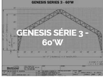 Dôme Britespan GENESE série 3-60' W