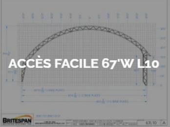 Dôme Britespan ACCES FACILE 67' WL10