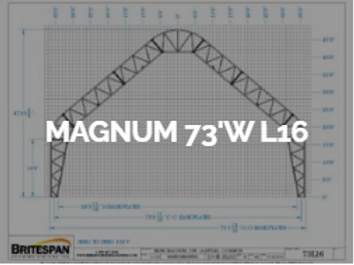 Dôme Britespan MAGNUM 73' WL16